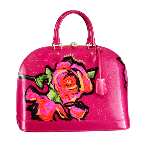 louis-vuittion-stephen-sprouse-monogram-vernis-roses-collection-5