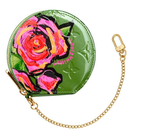 louis-vuitton-sprouse-vernis-rose-coin